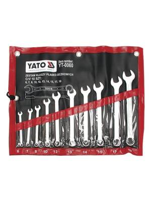 Set chei combinate 10 buc  6-19 YATO