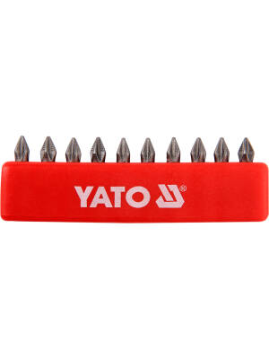 "YT-0474, Bit PH 1x25mm 1/4""set 10, Yato"
